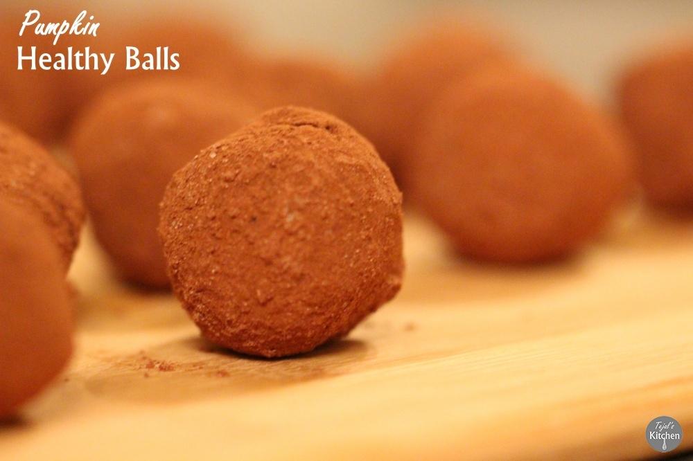 Pumpkin Healthy Balls