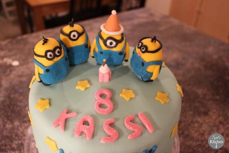 Minion Birthday Party Cake