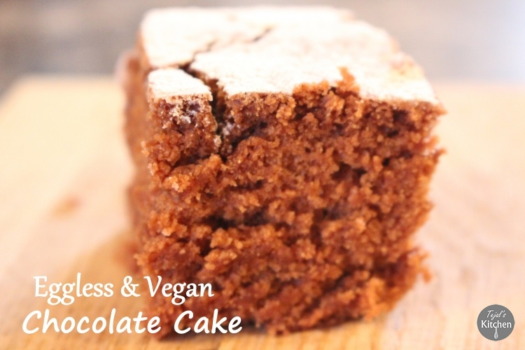Vegan Eggless Chocolate Cake
