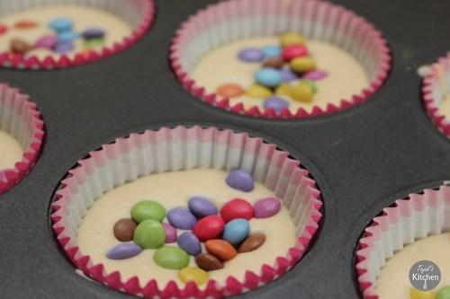 Smarties Cup Cake