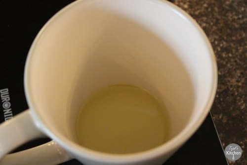 Double Choc Peanut Butter Mug Cake