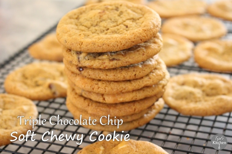 Triple Choc Chip Cookie