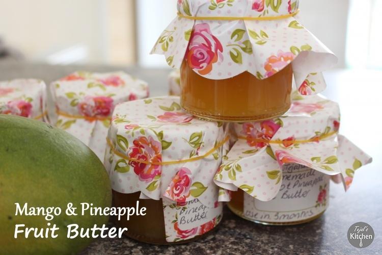 Pineapple & Mango Fruit Butter