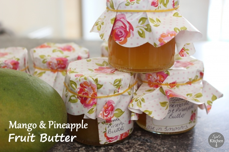 Pineapple & Mango Fruit Butter