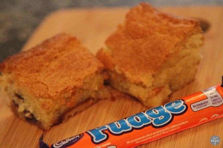 Cadbury Fudge Blondie