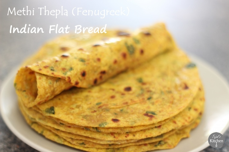 Thepla– Indian Spiced Bread