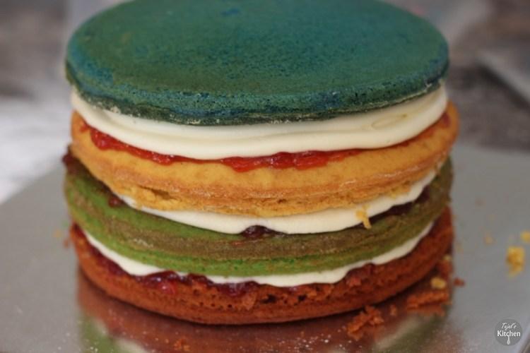 Hungry Catapillar Cake