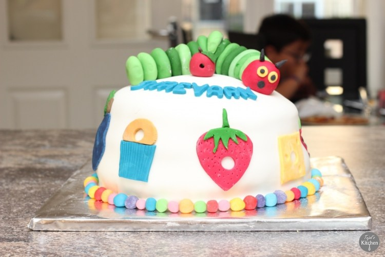 Hungry Catapillar Cake