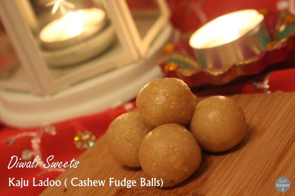 Kaju Ladoo – Cashew Fudge Balls