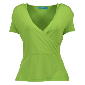 Bakery Ladies Drape T-Shirt Spinach Solid