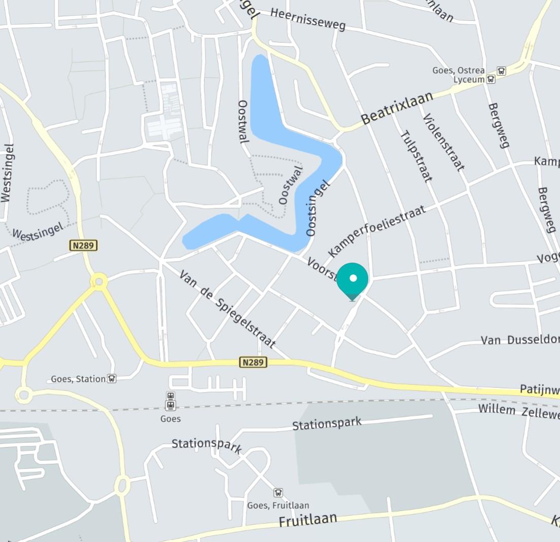 Yoga locatie Cityzen, Voorstad 65, Goes