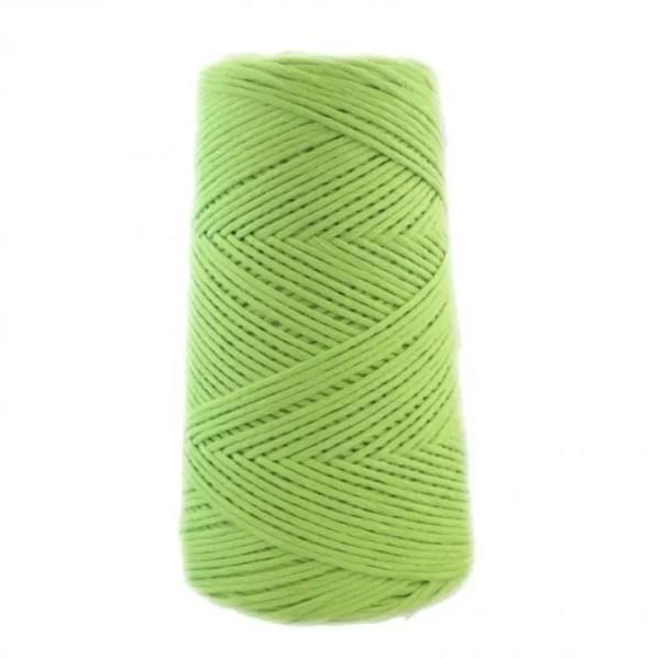 algodón XL verde kiwi
