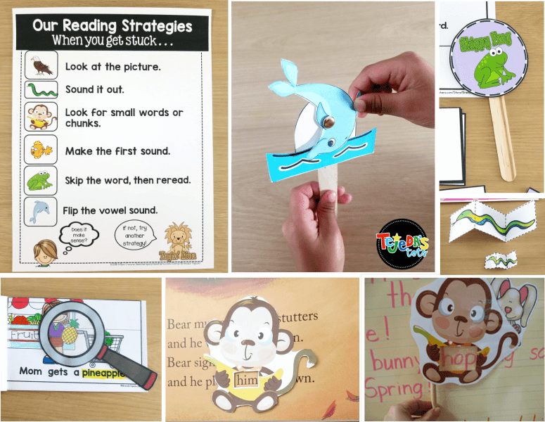 These guided reading tools are perfect for reinforcing decoding strategies! #tejedastots #guidedreading #readingstrategies