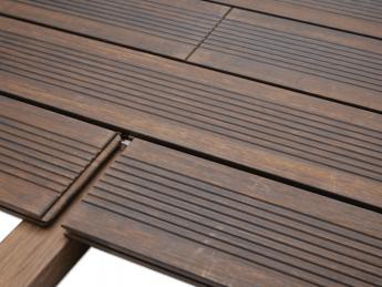 lames de terrasse en bois naturel bambou 1 85 m tekabois