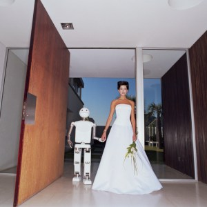 How the robot proposed to the woman in 2060 and together they went to the altar