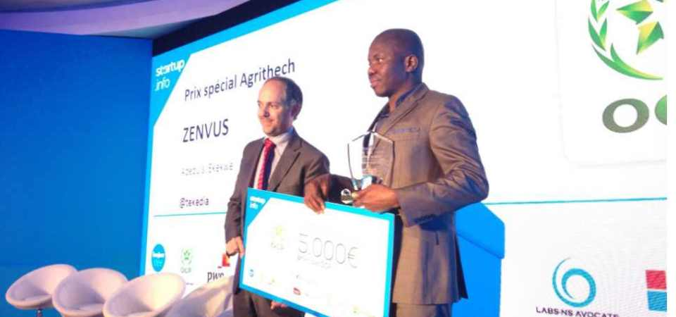 Zenvus Wins AgTech Startup of the Year in Casablanca Morocco [Video]