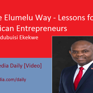 The Elumelu Way – Lessons for African Entrepreneurs [Video]