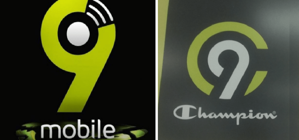 9Mobile (nee Etisalat) Logo Resembles This U.S. Apparel Logo