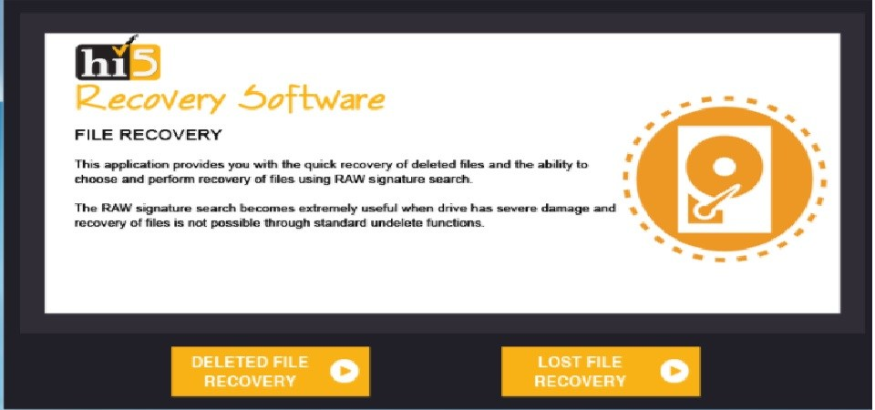 Hi5 Mac Partition recovery software – for Complete Data Recovery