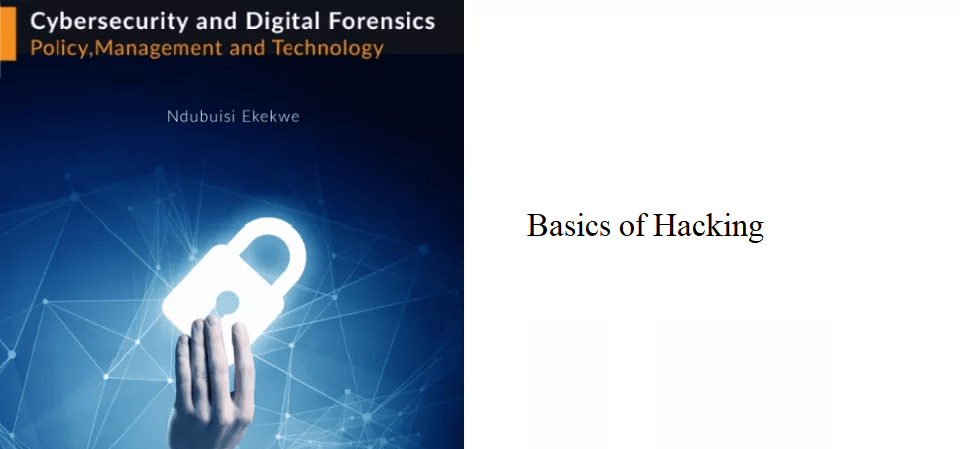 8.0 – Basics of Hacking
