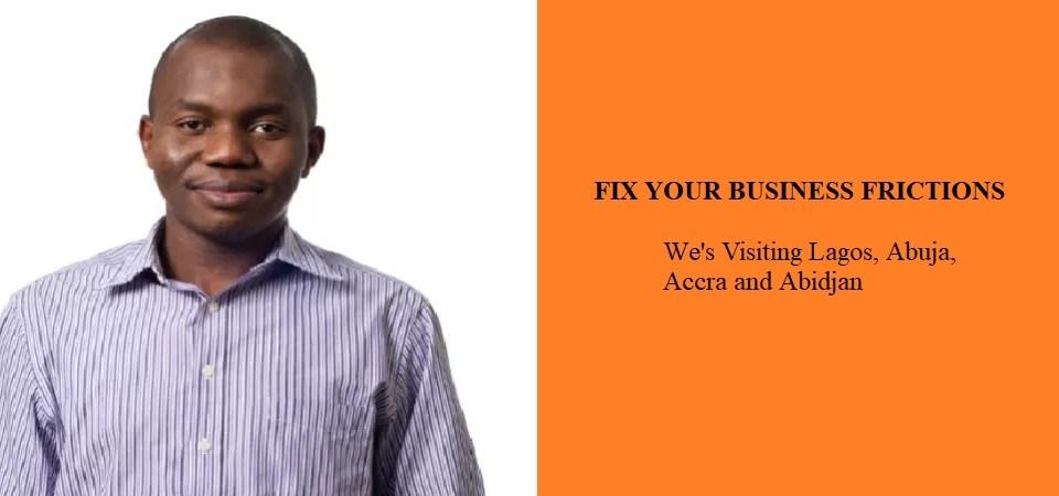 I'm Visiting Lagos, Accra, Abuja and Abidjan
