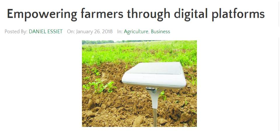 Thank you Nation Newspaper – Empowering farmers through digital platforms