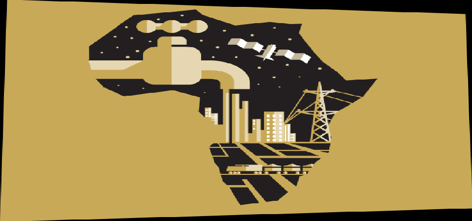 Africa's Dramatic Leap into the Future: A Projected Reality