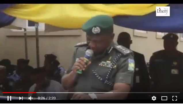 Is this Inspector General of Police Video REAL?