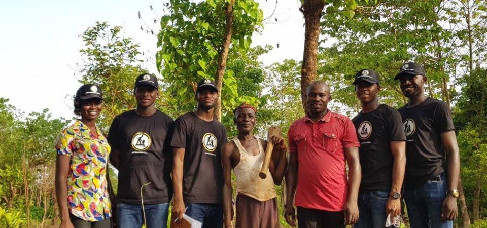 Nigerian Graduates Are Going Farming, Peatuce Joins (Photos)