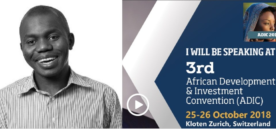 Ndubuisi Ekekwe To Speak in 2018 African Development Investment Convention in Switzerland