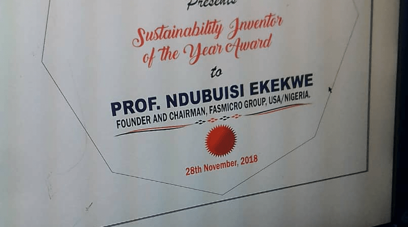 """Ndubuisi Ekekwe To Receive """"Sustainability Inventor of the Year"""" Award During IN-CSR Africa"""
