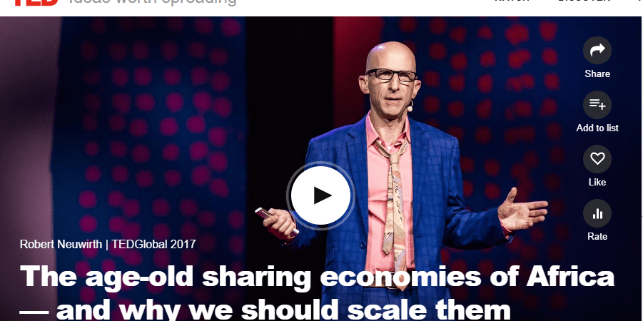 """[Full TED Video] """"Igbo apprenticeship system that governs Alaba Int'l Marketis the largest business incubator platform in the world"""" Robert Neuwirth"""