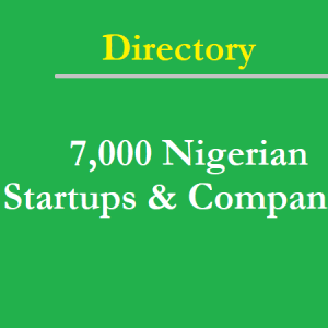 Comprehensive Directory of 7,000 Nigerian Companies and Startups