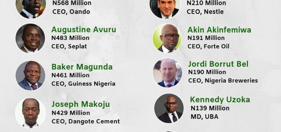4 Things From BusinesssDay's Highest Paid CEOs of Nigerian Public Companies