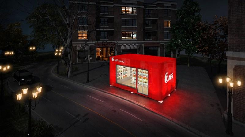 AIFI's Nanostore Is The Future of Retail Store Technologies