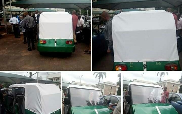 UNN Makes Nigeriaâ??s Tesla Electric Car: Lion Ozumba 551 (Photos)