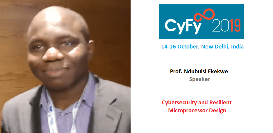 Ndubuisi Ekekwe To Speak in India's CyFy Technology Conference