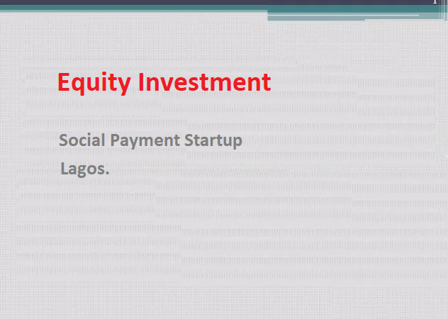 Ndubuisi Ekekwe Takes Equity In A Social Payment Startup in Lagos