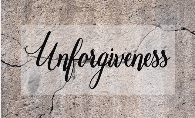 The Pain of Unforgiveness