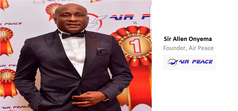 2019 Businessperson of the Year – Air Peace's Onyema Overtakes AfDB's Adesina