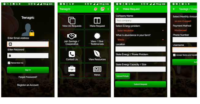 Download Trenagric App