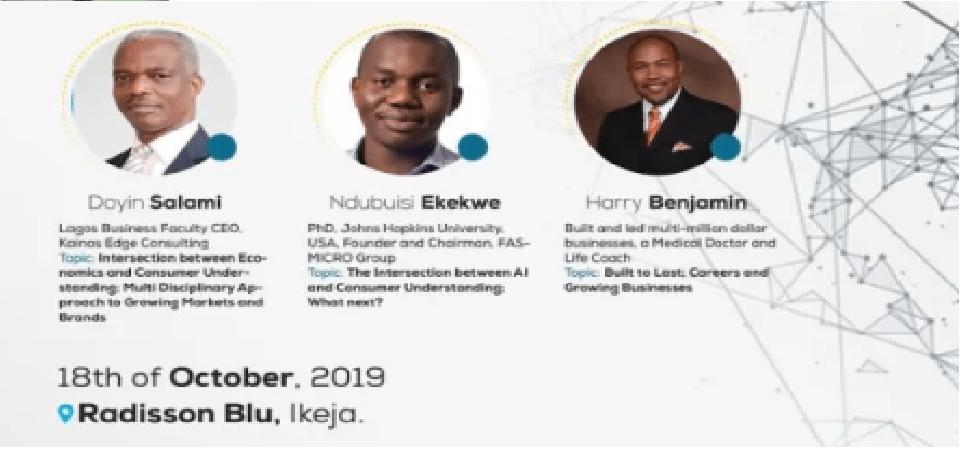 Join Prof Ndubuisi Ekekwe and Prof Doyin Salami (Chair, Presidential Economic Advisory Council to President Buhari) this Friday in Lagos.
