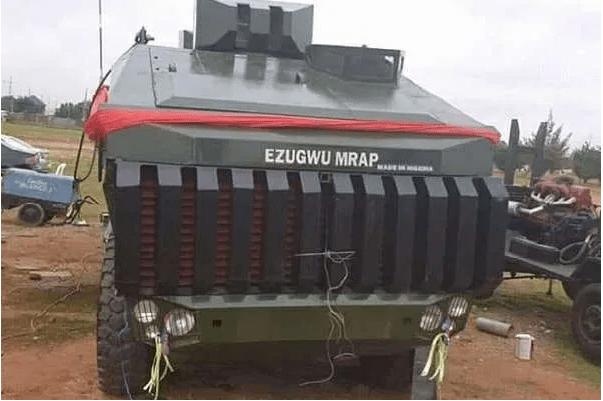 This is Ezugwu – Nigeria's Army Armoured Vehicles Designed in Nigeria