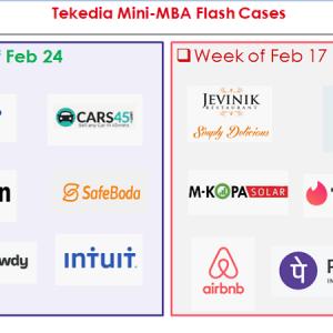 Flash Cases for Week 3 – Tekedia Mini-MBA