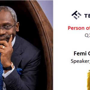 My Person of the Quarter, Q1 2020 – Femi Gbajabiamila
