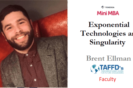 Four Tekedia Mini-MBA Faculty for Exponential Technologies and Singularity