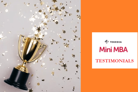 Selected Testimonials from Tekedia Mini-MBA Participants