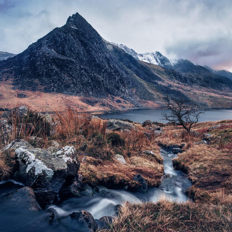 Ogwen valley , Snowdonia , Wales 2018 Hasselblad 503CW f/16 1/4s +0.6ND Lee filter 50mm, Kodak Ektar 100