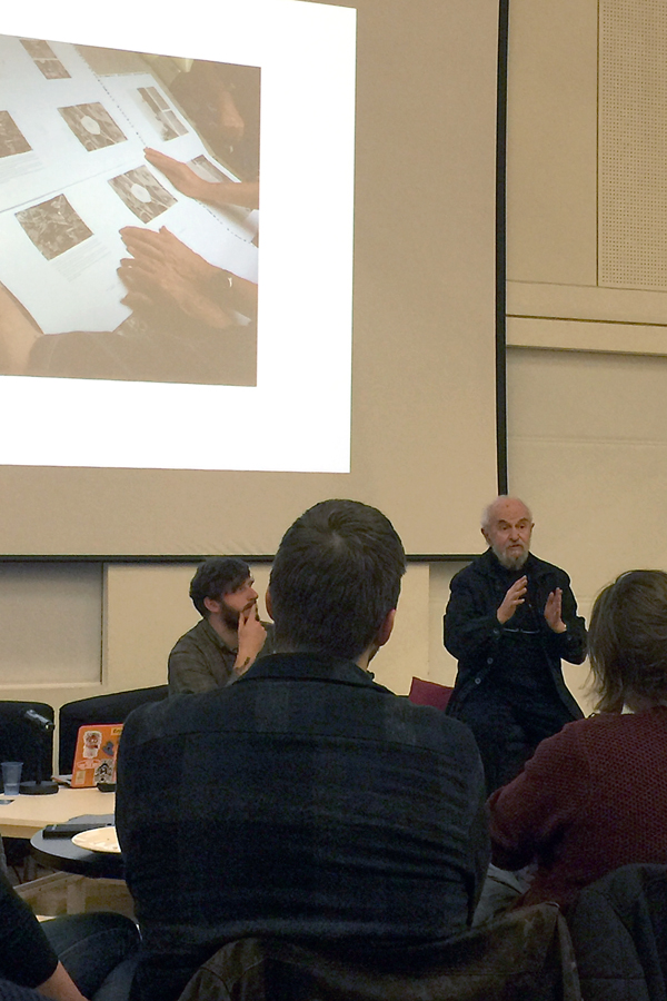John Blakemore talk, Nottingham , iPhone 6plus