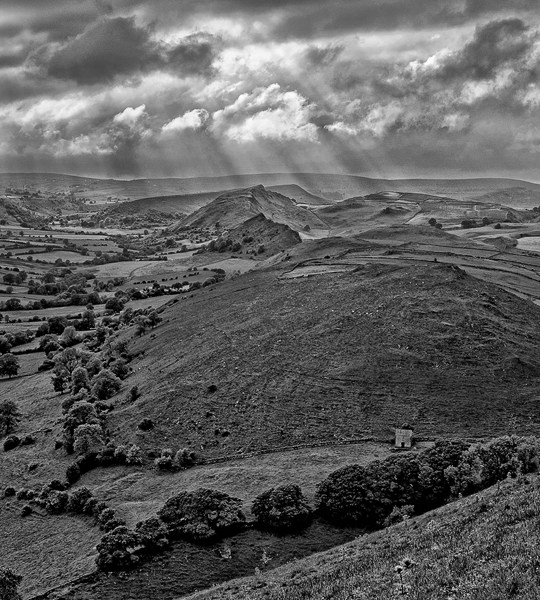 Chrome Hill from High Wheeldon, Peak District 2015